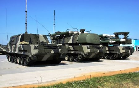 Buk-M1-2 air defence system