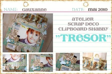 clipboard shabby tresor