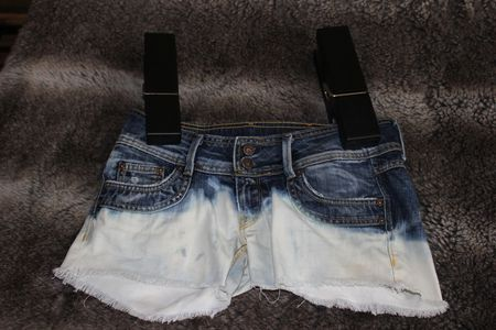 DIP DYE DENIM SHORTS 042 (2)