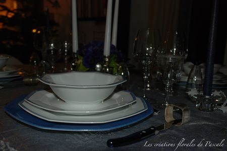 Table Noël bleu 226
