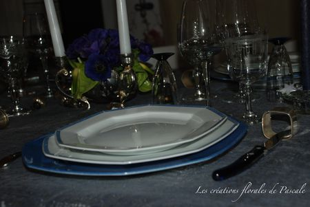 Table Noël bleu 244