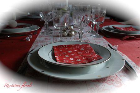Table de Noël étoilé 275