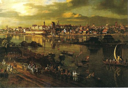 Varsovie Praga Canaletto 1770