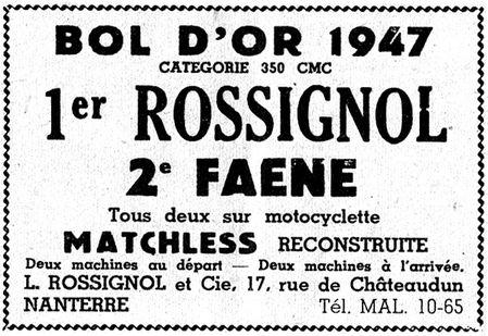 1947 rossignol pub156