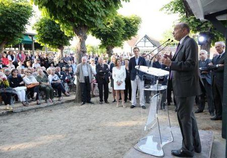 2014 06 18 Alain Juppé à l'Isle Adam