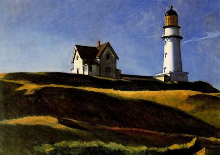 71 Phare Hopper 1927 colline du phare Dallas museum