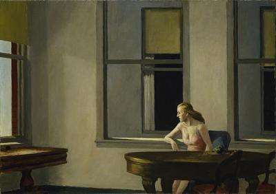 36 Vue Hopper 1954 City Sunlight Hirshorn M & sculpture gar