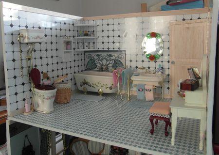 maison de poupée(salle de bain-wc/chambre ) - le blog de scrap-var ... - Salle De Bain Maison