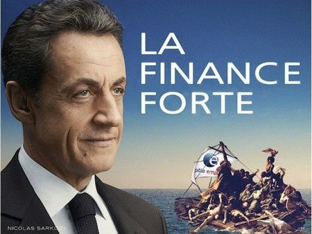 sarkozy affiche france forte sarkostique 5