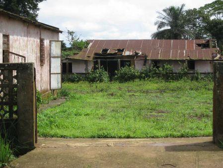 Antiga residência do J.M.Nzenguele.