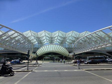 Lisbonne Gare de l'orient