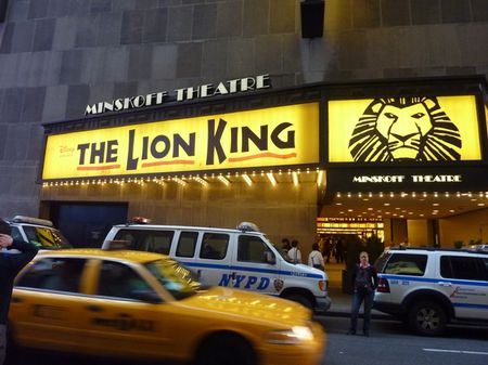 theatre le roi lion