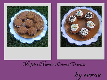 Muffins Moelleux OrangeChocolat3