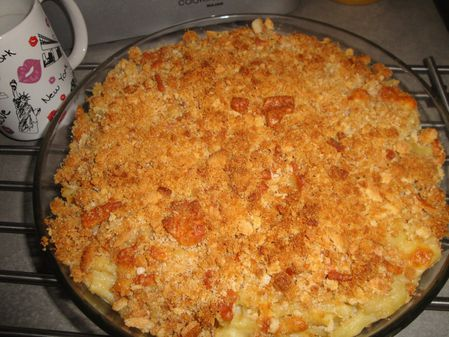 Mac and cheese maison