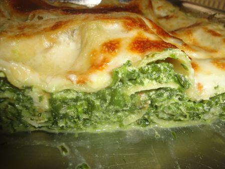 Lasagnes épinards ricotta gorgonzola d'Audrey