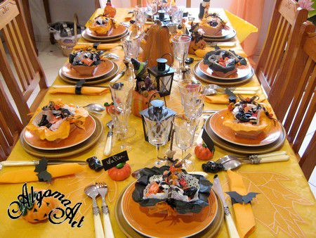 Halloween : Comment prparer sa table d Halloween? -