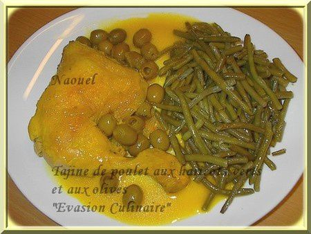 poulet_haricots_olives