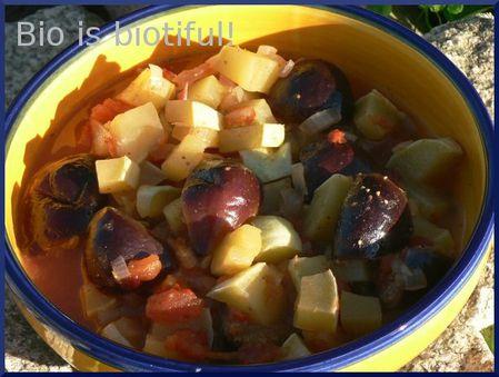 Tajine au pâtisson et figues fraîches 2