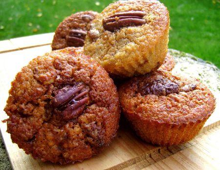 Muffins Pomme, Caramel et Pécan 3