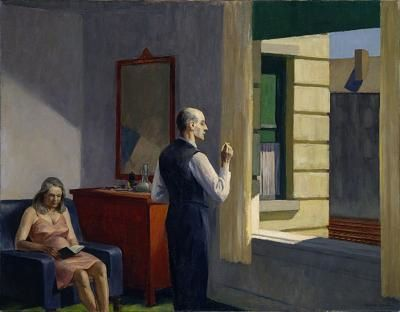 66 Lecture Hopper 1952 Hotel by a railroad Hirshhorn Museum