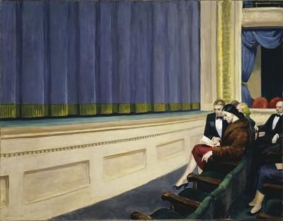 93 Attente Hopper 1951 First row orchestra Hirshhorn M & sc