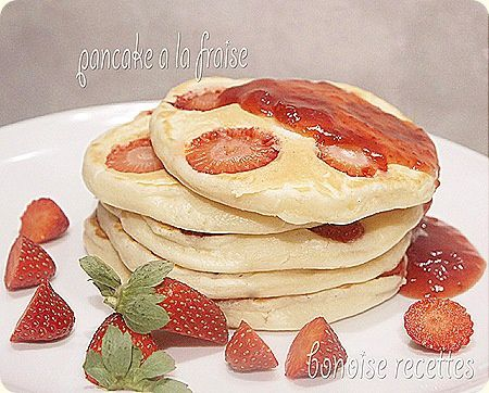 pancake a la fraise5