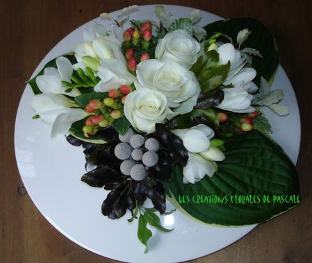 Centre de table f te des m res r cr ation florale blog d 39 art floral blog mariage - Composition florale a faire soi meme ...