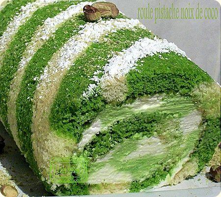 roule pistache noix de coco1