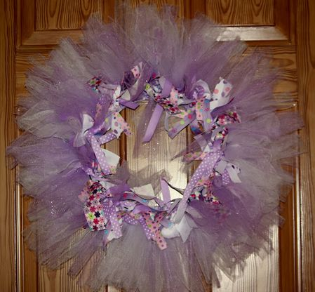 purple wreath for Claire Olny 010
