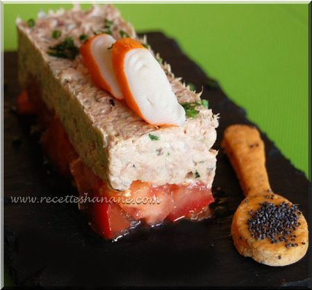 Entr e l g re et facile tartare tomate thon recettes by for Entree legere et originale