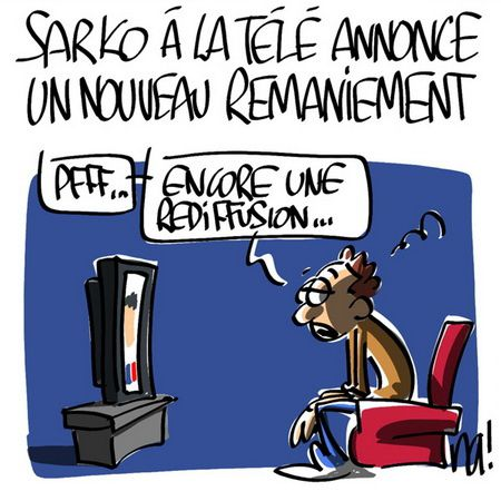 sarkozy alliot marie remaniement sarkostique 2