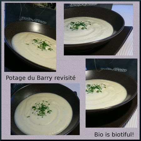 Potage du Barry revisité 2