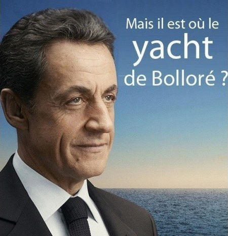 sarkozy affiche france forte sarkostique 8