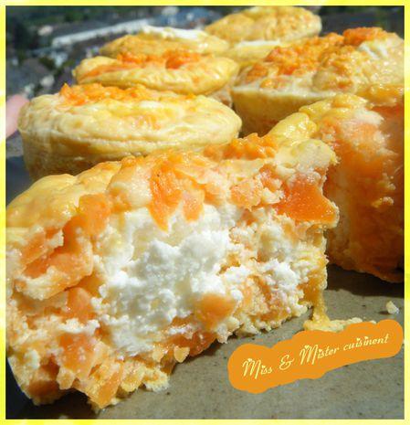 flans carotte chèvre 2