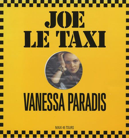 Vanessa+Paradis+-+Joe+Le+Taxi+-+Picture+Label+-+12'+RECORD