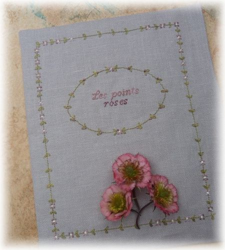 cahier broderie VIII f 1