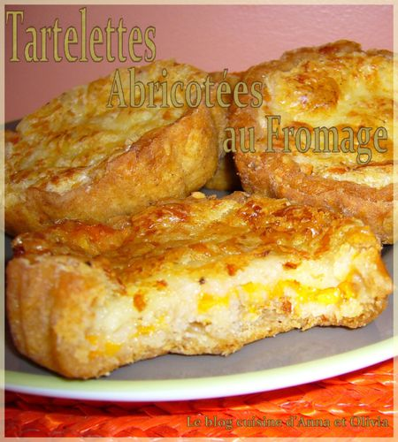 tartelettes abricotées fromage