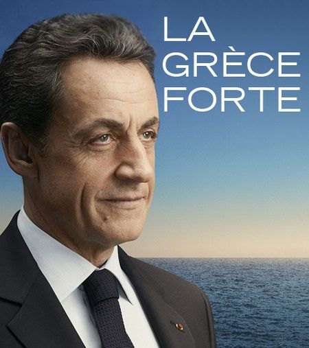 sarkozy affiche france forte sarkostique 12
