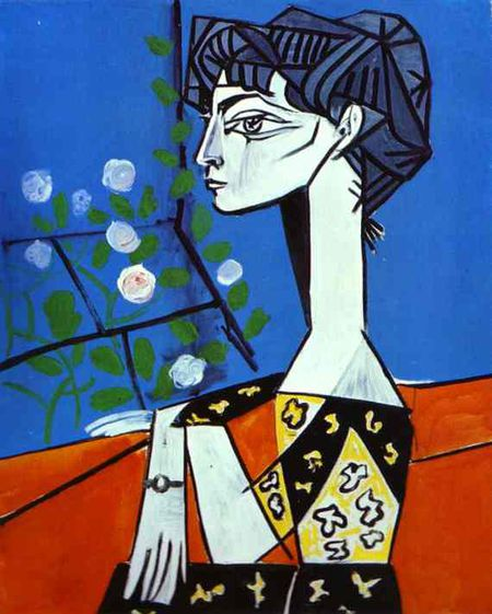 Picasso Jacqueline with Flowers