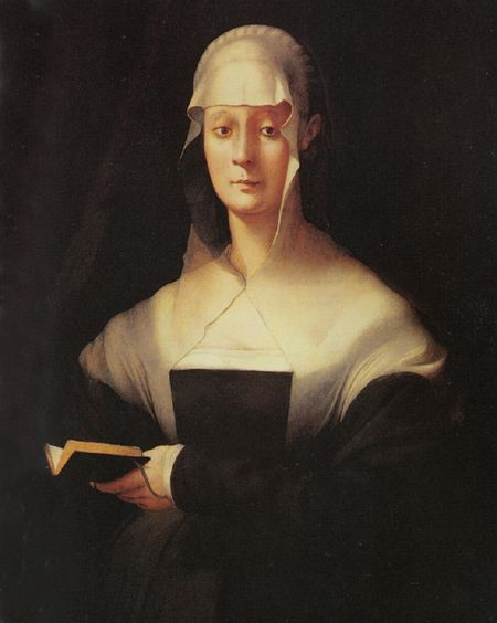 Pontormo Portrait of Maria Salviati