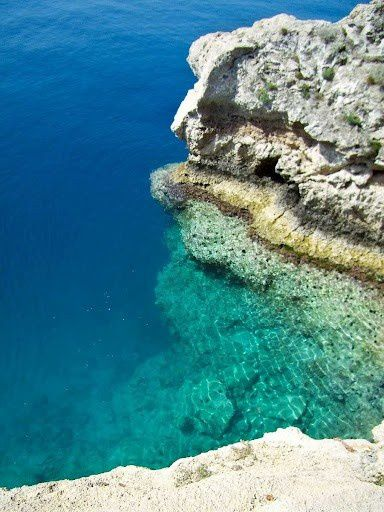 the colour of the sea, Kithira, Greece