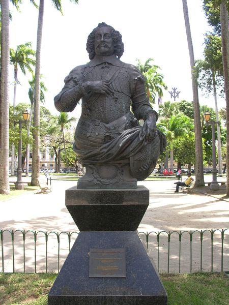 Bresil Recife Gouverneur Moritz Von Nassau XVIIe