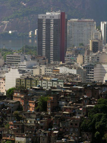 bresil rio favela Laranjeras Botafogo1