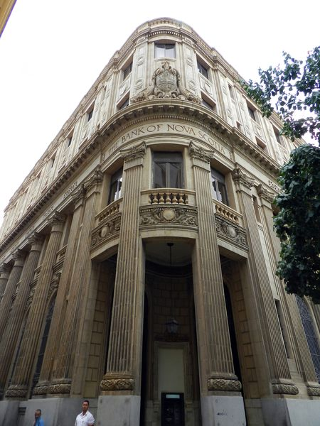 Cuba LaHavane Bank of Scotia copie