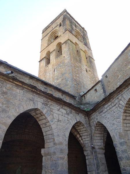 Ainsa église, le clocher