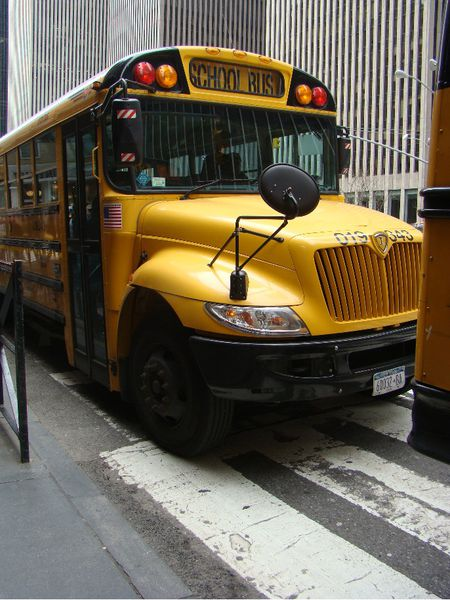 new york bus scolaire jaune school bus yellow5