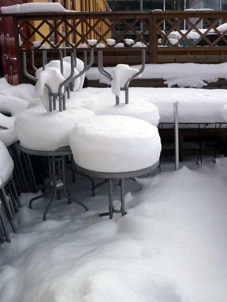 stockholm neige