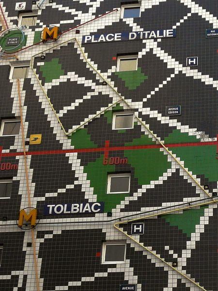 Même les stations de métro y figurent!
