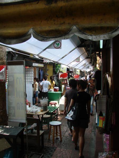 marché de Chatuchak Bangkok