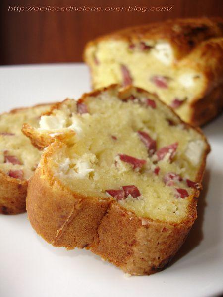 cake aux alumettes de canard et kiri